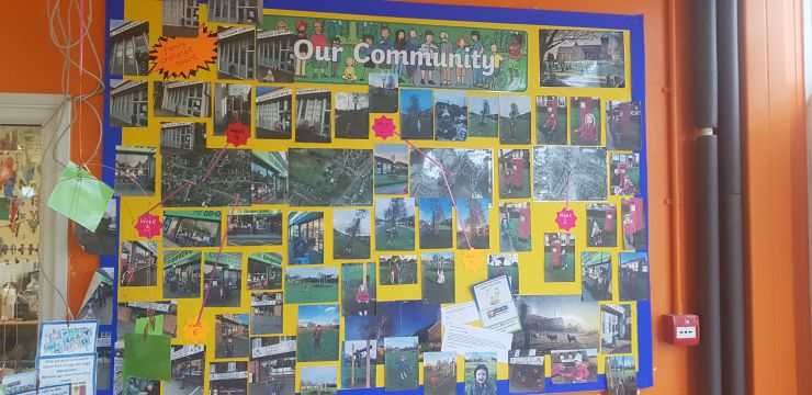 our community display photo